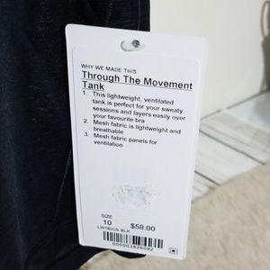 lululemon athletica Tops - Lululemon Thought The Movement Tank